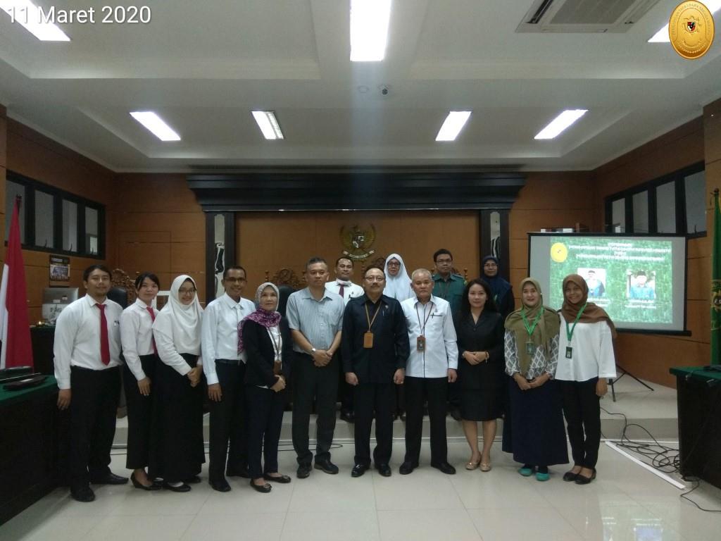Pembinaan Pengadilan Tinggi Tata Usaha Negara Jakarta Pada Pengadilan Tata Usaha Negara Serang